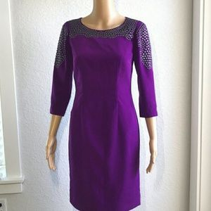 Antonio Melani Magnetta Studded Dress Size 6